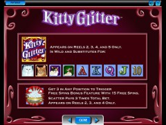 Kitty Glitter 77juegos.com IGT Interactive 3/5