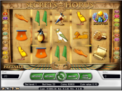 The Secrets of Horus - NetEnt